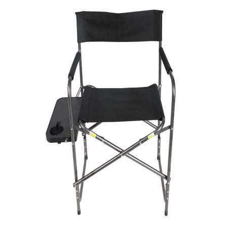 Remarkable Ozark Trail Directors Chair With Foldout Side Table Black Ocoug Best Dining Table And Chair Ideas Images Ocougorg