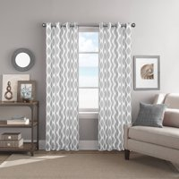 Better Homes & Gardens Ikat Diamonds Printed Window Curtain with Grommets