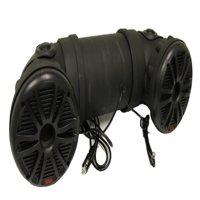 "New BOSS ATV20 Dual 6.5"" 450W ATV/Marine ATV Amplified Tube Speaker System w/Aux"