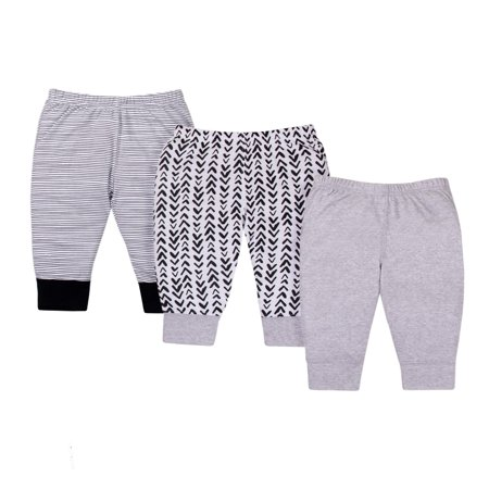 Knits Pants, 3-pack (Baby Boys or Baby Girls Unisex)