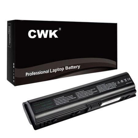 CWK® 12 Cell 8800mAh High-Capacity Battery for HP 454931 411462-141 452057-001 HSTNN-DB31 HSTNN-OB42 HP Pavilion DV2100 DV2000h DV2500 DV6100 432307-001 EV089AA HP 440772-001 HSTNN-IB42 HSTNN-DB32