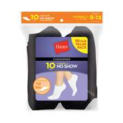Women's everyday cushioned no show socks value 10-pack
