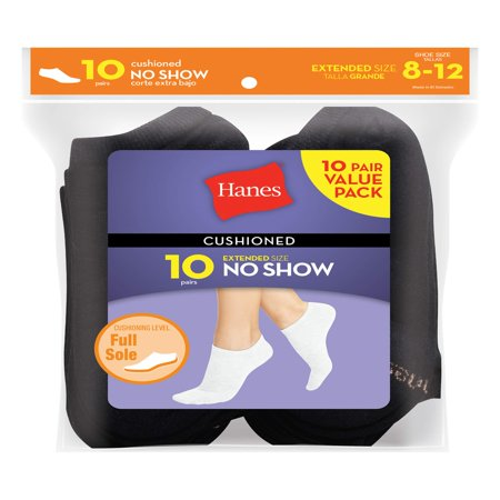 Women's everyday cushioned no show socks value (Racing Womens Socks)