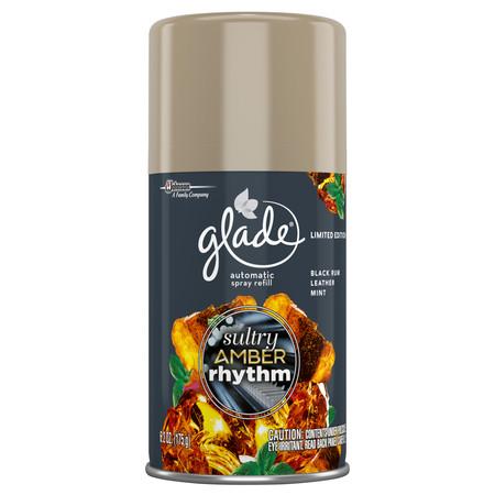 Glade Automatic Spray Air Freshener Refill, Sultry Amber Rhythm, 6.2 (Best Glade Auto Fresheners)