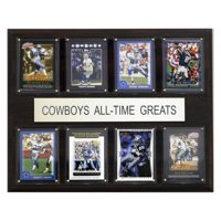 C&I Collectables NFL 12x15 Dallas Cowboys All-Time Greats Plaque