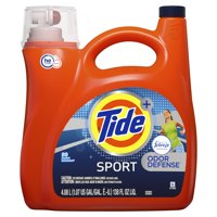 Tide Sport Odor Defense Liquid Laundry Detergent with Febreze Freshness, Active Fresh, 89 Loads 138 fl oz
