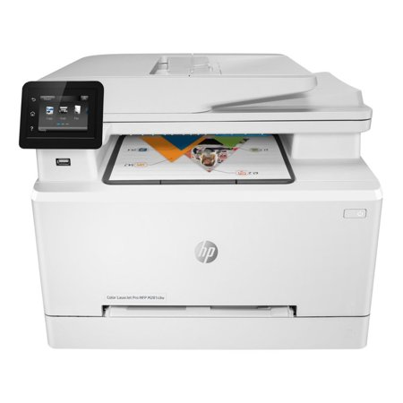 HP FACTORY RECERTIFIED COLOR LASERJET PRO M281CDW 22PPM 600X600DPI 270-SHEET DUPLEX 256MB E-PRINT/GBE/USB/WIFI COLOR LASER PRINTER/COPIER/SCANNER/FAX SAME-AS-NEW/1YR