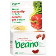 Gas Relief Beano® 300 GALU Strength Tablet 100 per Bottle