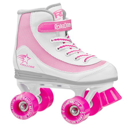 Roller Derby FireStar Girls Quad Roller Skates - Lighted Roller Skates