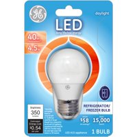 GE 40W Equivalent (Uses 4.5W) Daylight A15 LED Appliance Bulb Bulb