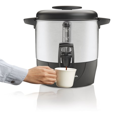 Hamilton Beach 40 Cup Coffee - 36 Cup Stainless Steel Urn