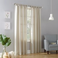 No. 918 Farrell Semi-Sheer Tab Top Curtain Panel