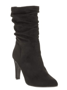 Women's Heeled Slouch Boot