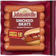 Johnsonville Smoked Brat, 28 oz