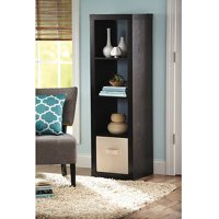 Better Homes and Gardens 4 Cube Storage Organizer, Multiple Colors