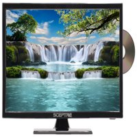 "Sceptre 19"" Class HD (720P) LED TV with Built-in DVD Player (E195BD-SR)"