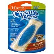 Hartz: Chew 'n Clean Small Nylon Bone Bacon Flavor Dog Toy, 1.9 Oz