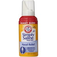 Simply Saline Nasal Mist 4.25 oz (Pack of 2)