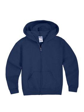 Mid-Weight Fleece Full-Zip Hooded Sweatshirt (Little Boys & Big Boys)