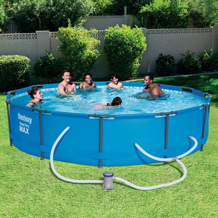 "Bestway Steel Pro MAX 12' x 30"" Above Ground Swimming Pool (The Best Way To Learn C)"