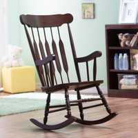 Belham Living Wood Nursery Rocker – Espresso