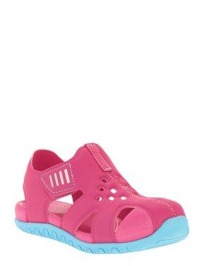 Toddler Girls' Bump Toe Sandal