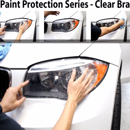 ZForce Perfect Fit Headlight PreCut Sheets Paint Protection Clear Bra Film Kit for 2017 Volkswagen GTI Coupe