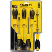 f0f0d5977a19b Stanley STHT66597 6pc Control Grip Screwdriver Set