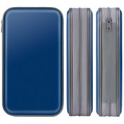 Coofit 80 Capacity DVD Storage Hard Plastic CD Binder Protective CD Cases Blue CD Wallet