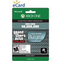 Microsoft Xbox One GTA V Megalodon Shark Cash $99.99 (Email Delivery)