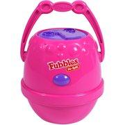 Little Kids Fubbles No Spill Bubble Machine, Pink and Purple