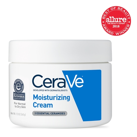 - CeraVe Moisturizing Cream, Face and Body Moisturizer, 12 oz