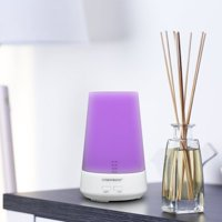 Comforday Essential Oil Diffuser, 100ml Cool Mist Humidifier with Mist Timer, Waterless Auto Shut-off and 7 Changeable Color LED Mood Lights