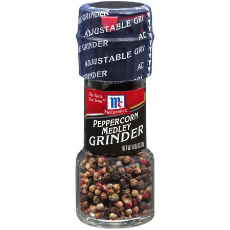 (3 Pack) McCormick Peppercorn Medley Grinder, 0.85 -