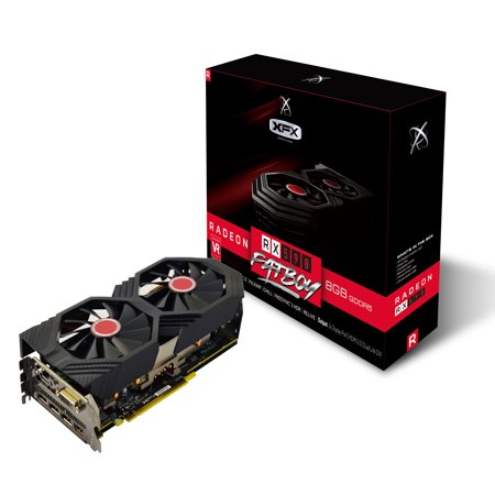 XFX AMD RADEON RX 590 FATBOY 8GB OC + 1600MHz DDR5 3xDP HDMI DVI - RX-590P8DFD6 - Free The Division® 2 Gold Edition & World War Z with
