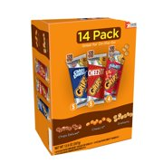 (2 pack) Kellogg's Gripz Chips Deluxe, Cheez-It, Grahams Variety Snack Pack, 0.9 Oz., 14 Count