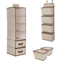 Delta Children Complete Nursery Organization ValuePack (3-Piece Set), Beige