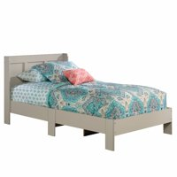 Sauder Parklane Twin Platform Bed with Headboard, Multiple Finishes