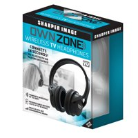 Own Zone, Wireless TV Headphones By Sharper Image