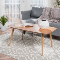 Noble House Celia Wood Coffee Table,Natural