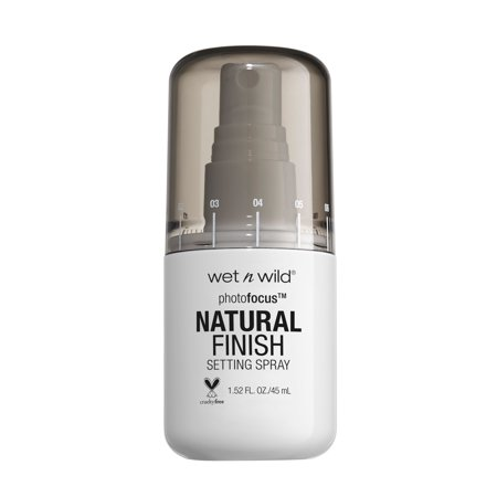 wet n wild Photo Focus Natural Finish Setting Spray, Seal the - Phthalate Free Wild Natural