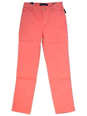 Gloria Vanderbilt Amanda Classic Fit Tapered Leg Women's Jeans (Color: Coral Nectar) (18 Average)
