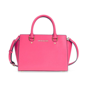 2b2ca375b4c2 Michael Kors Selma Medium Leather Satchel - Ultra Pink 30S3GLMS2L-564