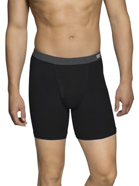 Men's CoolZone Fly Dual Defense Covered Waistband Boxer Briefs, 5 Pack