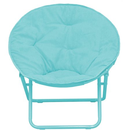 American Kids Solid Faux-Fur Saucer Chair, Multiple Colors ()