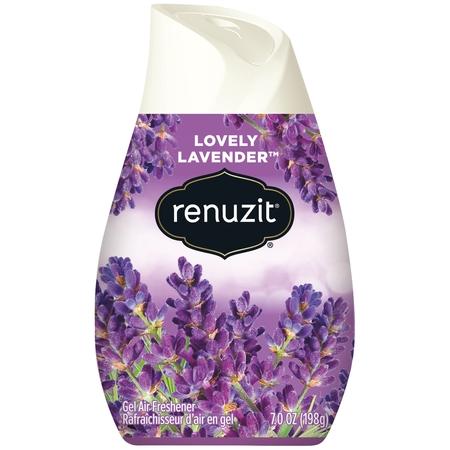 Renuzit Gel Air Freshener, Lovely Lavender, 7.0 Ounce