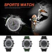 7cdcaecf3 SINOBI Men Sports LED Watch Quartz Digital Analog-Digital Wrist Watch  Waterproof with Alarm Clock