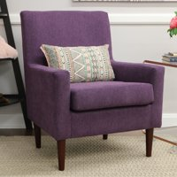 Emma Lounge Chair - Eggplant