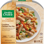 Healthy Choice Cafe Steamers Frozen Dinner, Crustless Chicken Pot Pie, 9.6 Ounce