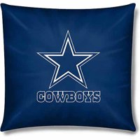 "NFL Dallas Cowboys Official 15"" Toss Pillow"